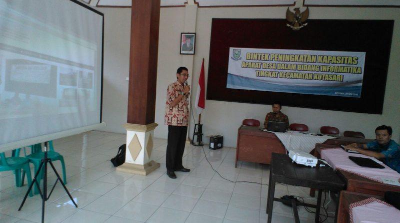 Bintek Informatika Bagi Aparat Desa